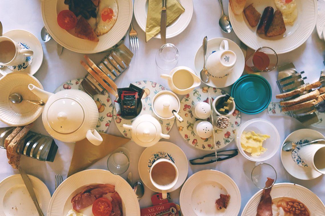 Frühstück im B&B