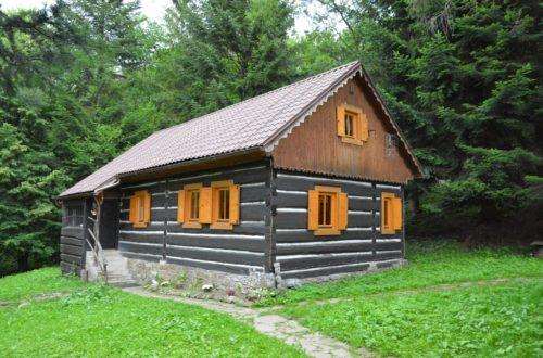 Slowakei Haus im Wald