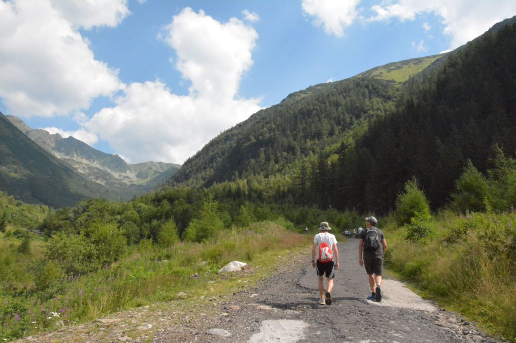 Wanderung auf Banikov Tatra Gebirge