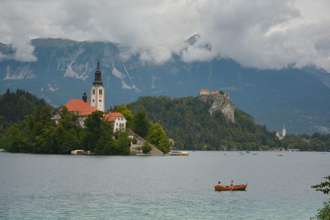Bleder See Slowenien Bled