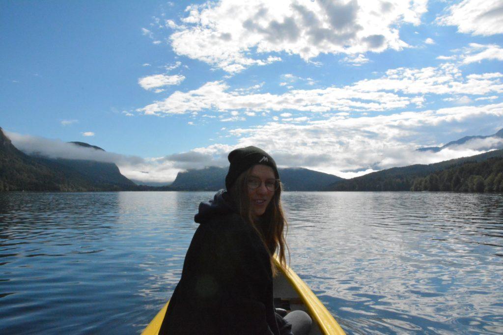 See Jezero Slowenien Kanu fahren