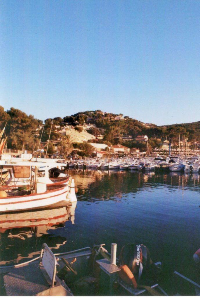 kleiner Hafen Mittelmeer Frankreich