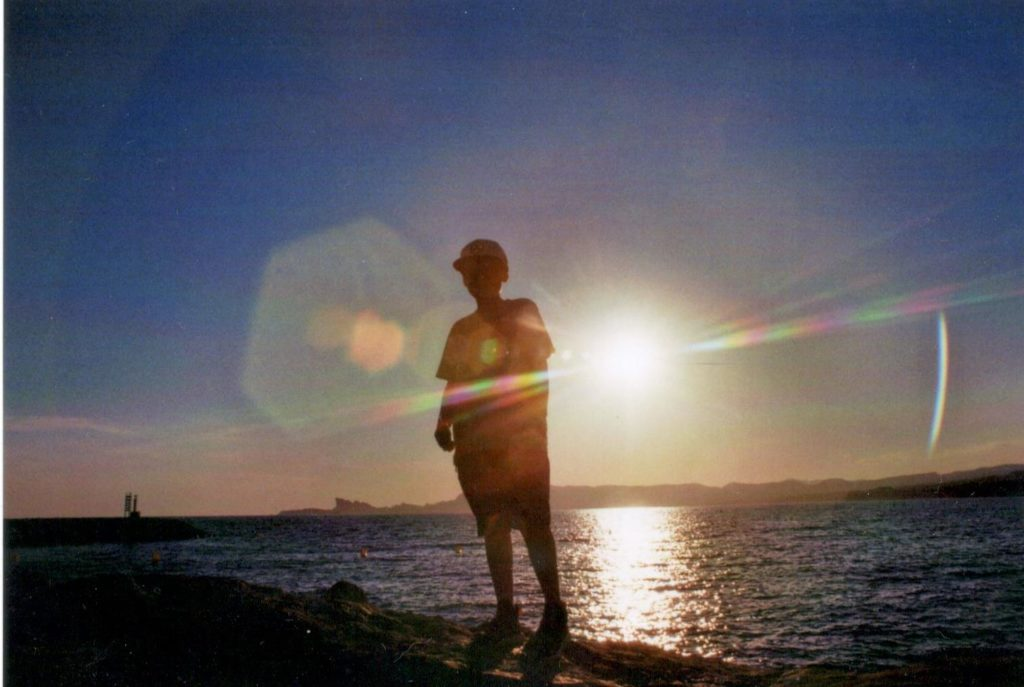 Meer Sonne Reflektion Frankreich