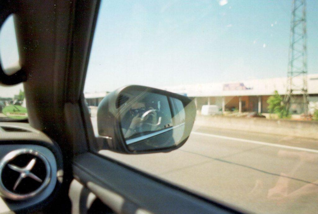 Autofahrt nach Frankreich