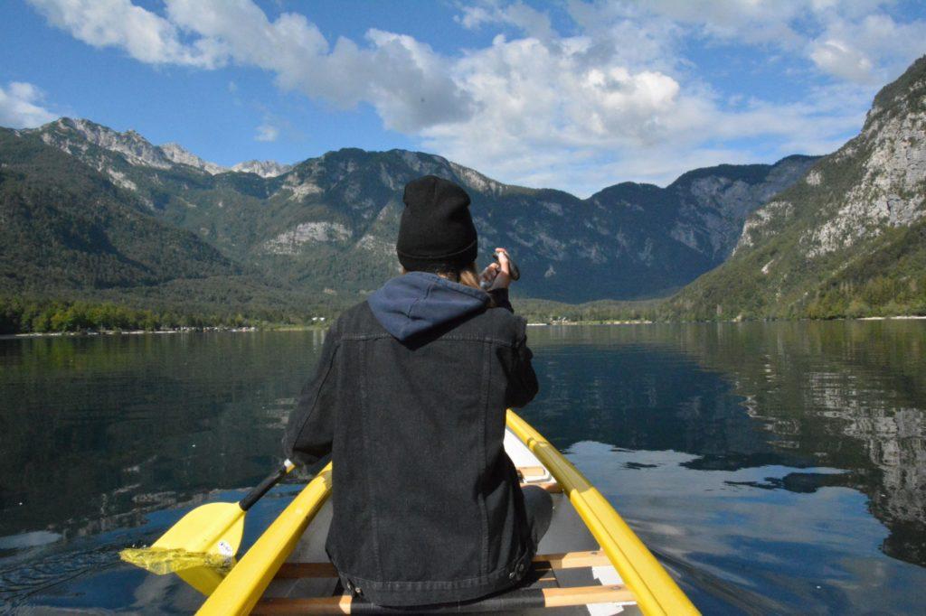 Kanu fahren Slowenien