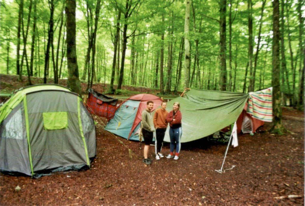 Film Slowenien Campingplatz Bohinji Zelten