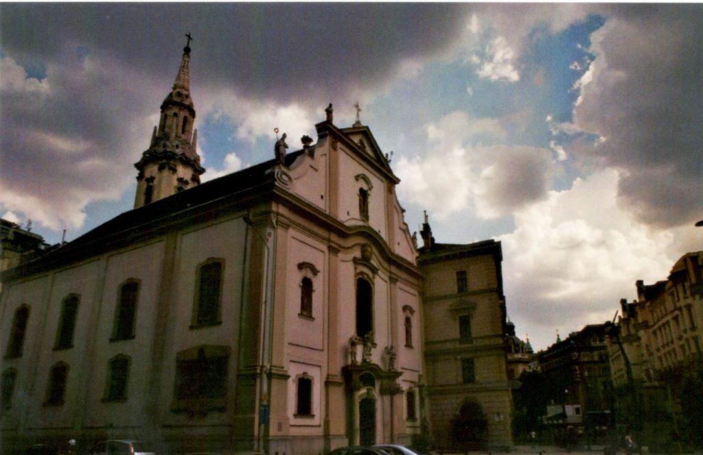 Analog Film Budapest Kirche